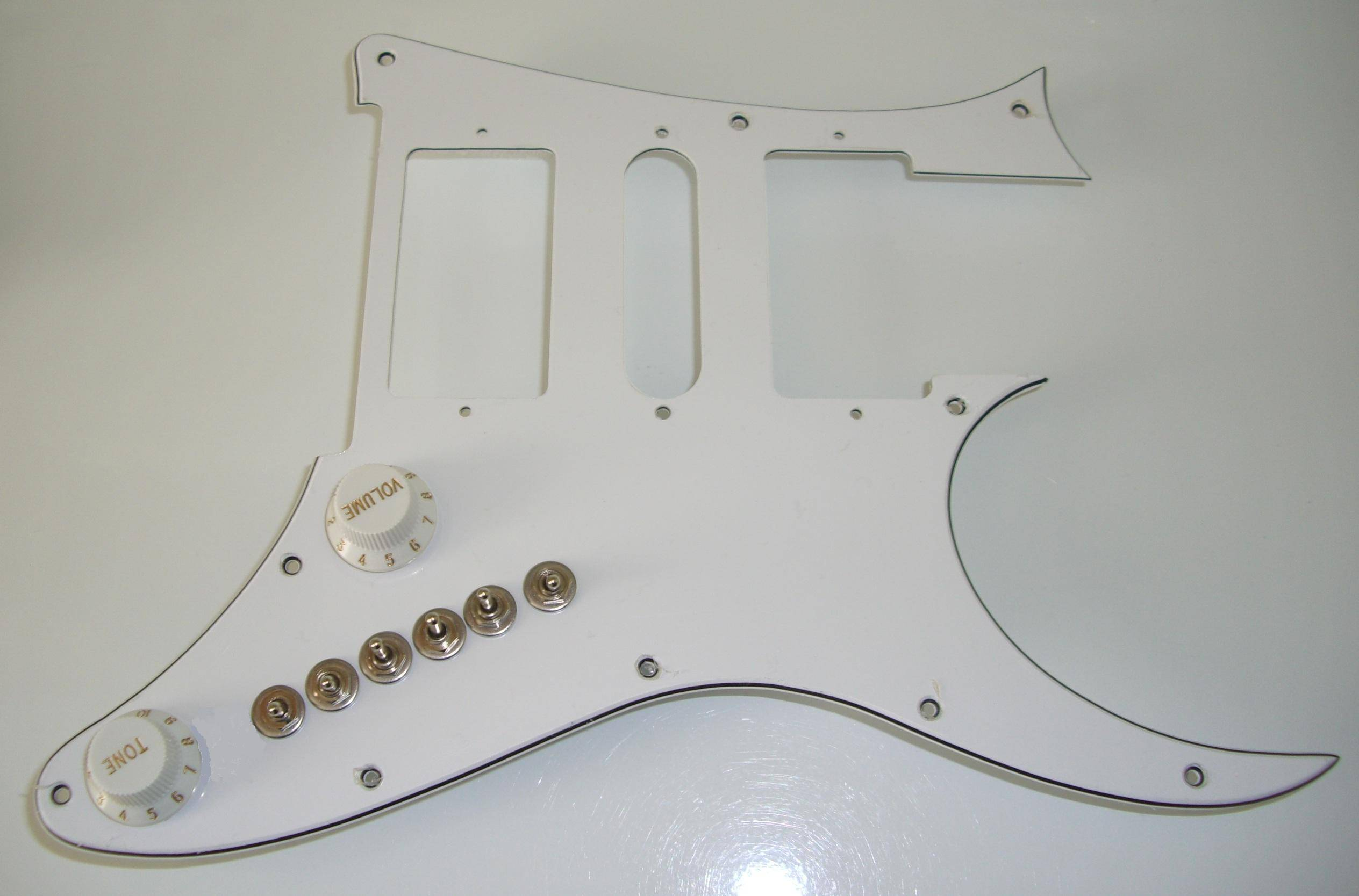 Ibanez Jem Or Rg350dx Hsh Guitar Upgrade Gives You 35 Pickup Tones Wiring Straight To Jack T3 For Your Pickups